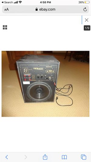 8 inch 8 mg subwoofer for Sale in Los Angeles, CA