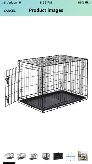 Dog crate (30Lx19W) Good Condition for Sale in Elgin, IL
