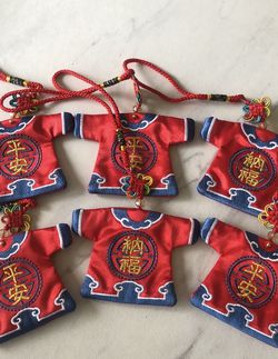 Silk Cloth embroider both sides, can be put in a Talisman or a Knot for Sale in Hollywood,  FL