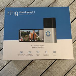 NEW Ring Video Doorbell 3 for Sale in Laveen Village, AZ