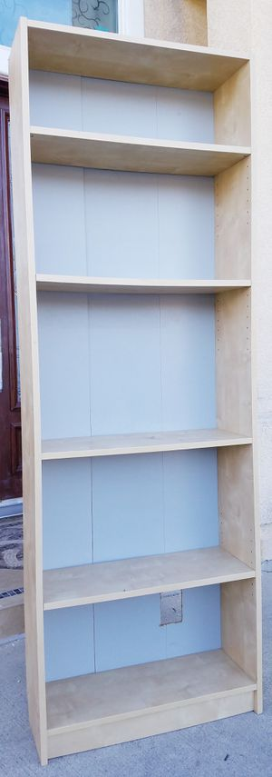 Ikea 5 Tier Display Bookcase Bookshelves Pantry Kitchen Organizer for Sale in Monterey Park, CA