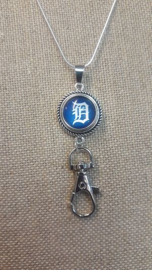 Detroit Tigers Necklace with Badge Holder ( SHIPPING ONLY) for Sale in Jacksonville, FL