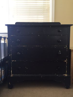 Vintage Black Dresser for Sale in Alexandria, VA