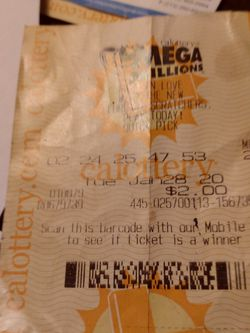 First Mega Million Ticket Bought after Death for Sale in Los Angeles,  CA