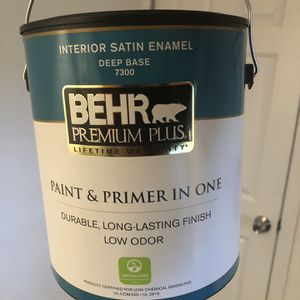 Behr Premium Paint And Primer - Full Can for Sale in Maple Valley, WA