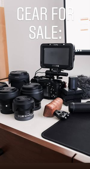 Sony APSC gear (Total or Separately) for Sale in Austin, TX