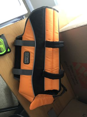 Dog life jacket-medium for Sale in Raleigh, NC