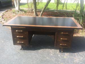 Walnut mid century desk for Sale in Fort Lauderdale, FL