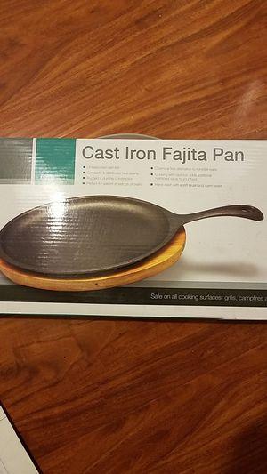 Cast iron fajita pan for Sale in Anaheim, CA