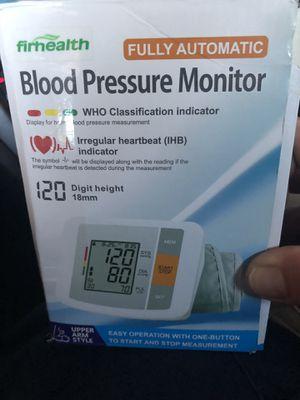 Blood pressure health monitor for Sale in Anaheim, CA