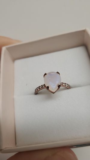 Moonstone Gem, rose gold plated silver for Sale in Chula Vista, CA