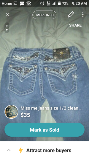 Miss me clean hardly wore size 2-3 for Sale in AR, US