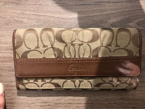 Small Coach Wallet for Sale in Burbank, IL