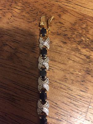 Diamonds and Sapphire bracelet. In Bellefonte for Sale in Bellefonte, PA