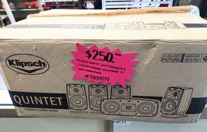 Klipsch Quintet Speaker System for Sale in Woodstock, GA
