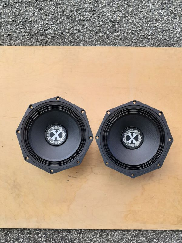 NEW! 8 inch pro audio mid-range speakers