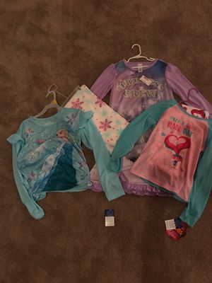 Girls size 10 and 10/12 Frozen, Trolls and Children's Place Pajamas for Sale in Kearny, NJ