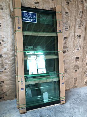 Fixed black on black impact windows for Sale in Tampa, FL