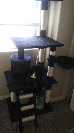 3 Tier Cat Tree with 2 Hammocks for Sale in Las Vegas, NV