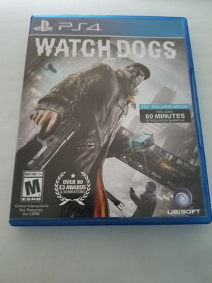 WATCH DOGS (PS4) for Sale in Rowena, TX