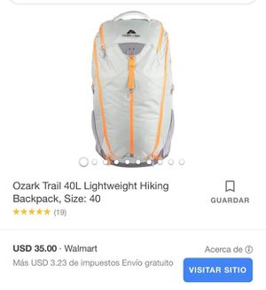 Hiking backpack retail price on picture for Sale in Reedley, CA