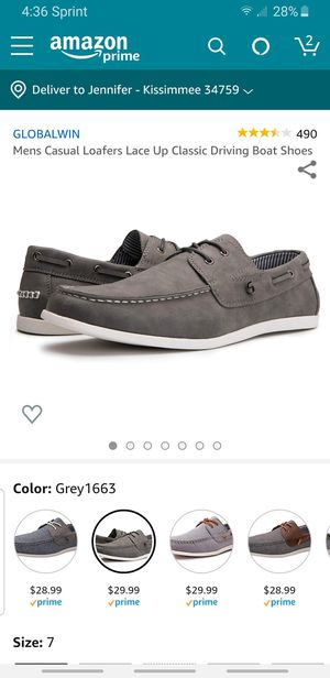 Global wear mens loafers for Sale in Kissimmee, FL