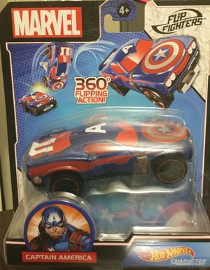Captain America 360 Flip Car Hot Wheels for Sale in Baltimore, MD