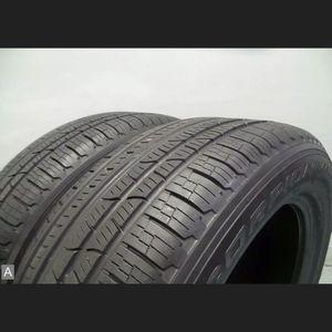 Pair 235 60 18 Pirelli Scorpion Verde Run Flat with 85% Tread 8/32 103H #7151 for Sale in Miami, FL