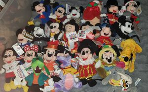 Disney Bean bag Plush lot for Sale in Orange, CA