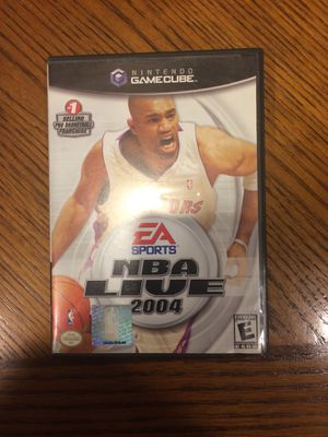 Nintendo Gamecube NBA Live 2004 for Sale in Boring, OR