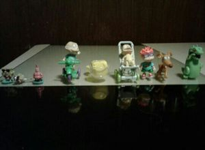 Vintage Nickelodeon Rugrats & Spongebob Toys Figures Collectibles Mini for Sale in Hawthorne, NJ