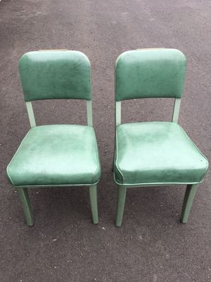 Pair of Vintage Mid Century Steelcase Industrial Tanker Desk Chairs for Sale in OR, US