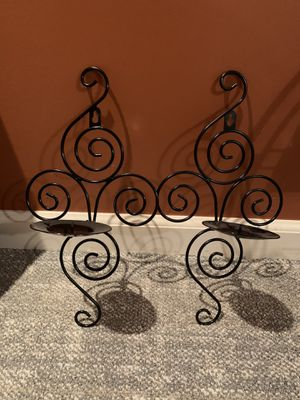 "Scroll wall sconces 14"" for Sale in Cleveland, OH"
