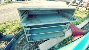 Metal cabinet sliding shelve for Sale in Columbus, OH