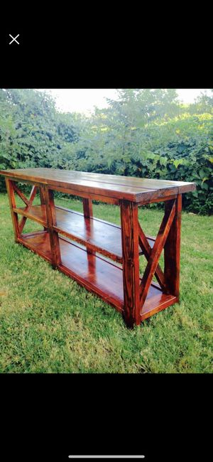 Rustic Console Table for Sale in University City, MO