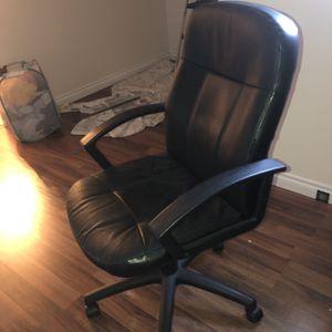 Office Chair Black for Sale in Auburn, WA