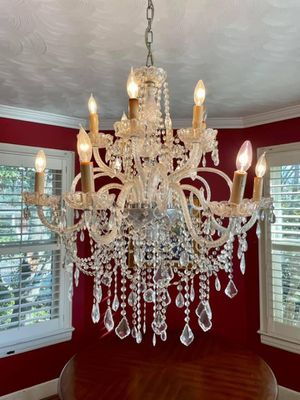 Crystal chandelier for Sale in Washington, DC