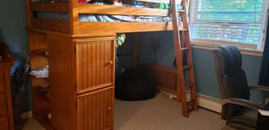 Twin over full bunk beds w/dresser. for Sale in Lancaster, NY