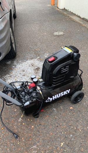 Husky air compressor for Sale in Portland, OR