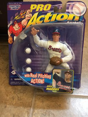 Greg Maddox Pro action figure doll for Sale in Brandon, FL