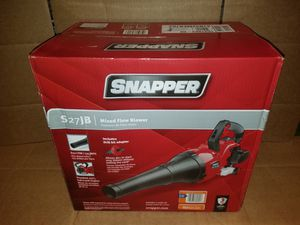 BRAND NEW Snapper 135 MPH 650 CFM Full Crank 2-Cycle 27cc Gas Blower with Electric Starting for Sale in Winter Haven, FL