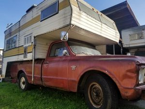 1967 Chevy c20 pickup camper special for Sale in Seattle, WA