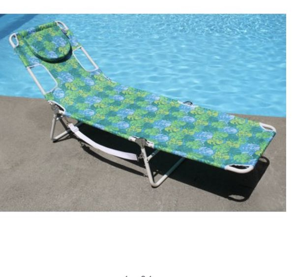 3 Misty Harbor Facedown Lounger, Cool Blue, including 10chairs.
