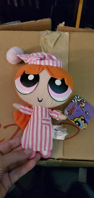 Cartoon Network Nanco Powerpuff Girls Plush Stuffed Blossom Pink Doll for Sale in Las Vegas, NV