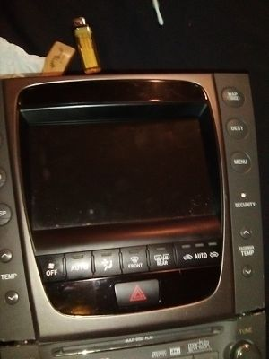 2004-2006 Lexus am/fm radio,CD,DVD, cassette player and navagation for Sale in Los Angeles, CA