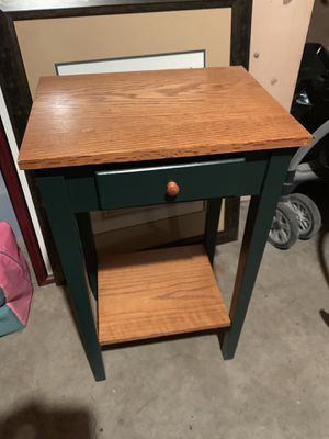 Small green wood shelf for Sale in Archdale, NC