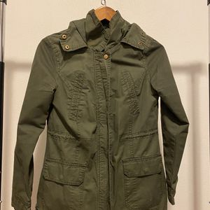 Green Zip-up Jacket for Sale in Snohomish, WA