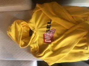 Diesel Yellow Hoodie Oversized for Sale in Seattle, WA