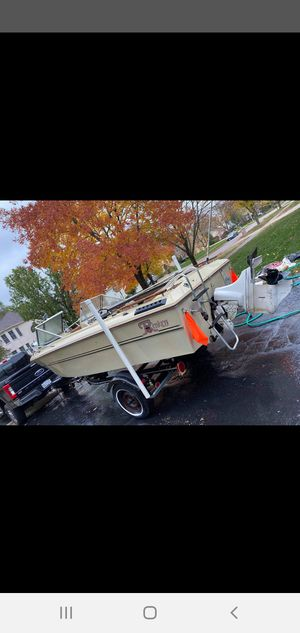 1981 renken boat and trailer for Sale in Franklin Park, IL
