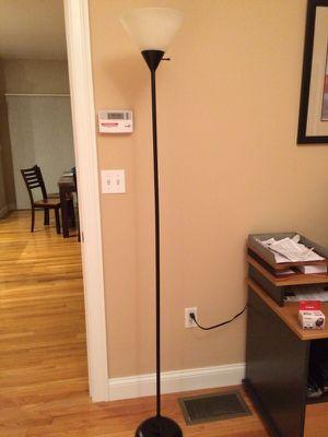 Standing lamp black contemporary for Sale in Sudbury, MA
